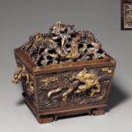 lost wax cast ming bronze