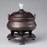 Ming incense burner of bronze base