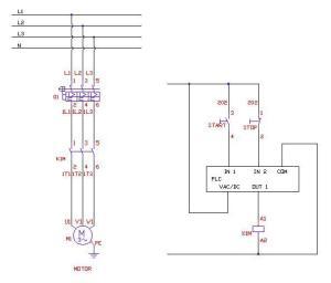 Iec motor starter wiring diagram – Economical home lighting