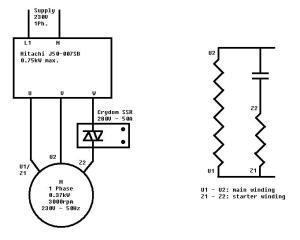 230v Motor Wiring  impremedia