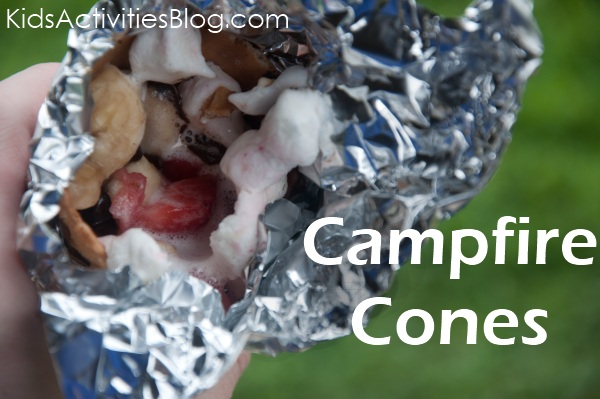 "Make Campfire Cone S""mores ~ Kids Activities Blog"