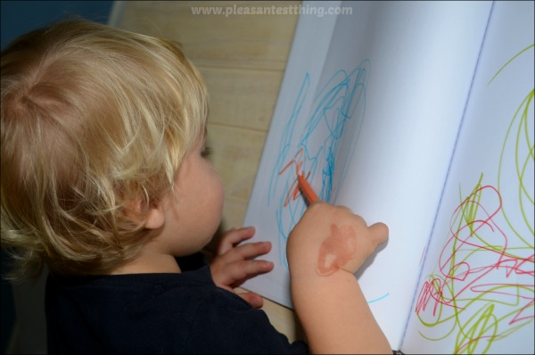 Create early reading books: the simplest form of bookmaking. A fun literacy activity