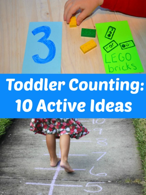 10 Active ideas for toddler to practice numbers