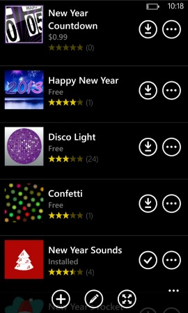 New Year's Eve apps on Nokia's App Social {sponsored}