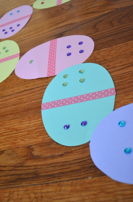 Easter Egg dominoes - fun seasonal math!