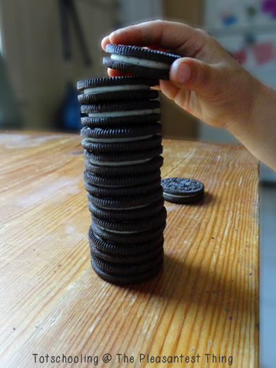 8 ways to learn with Oreos! - yummy way to learn!