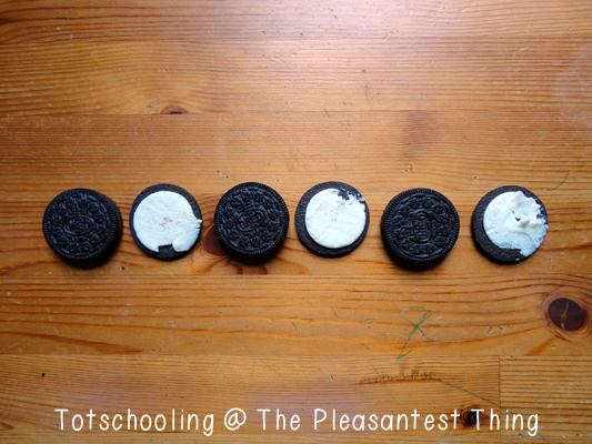 Snack and learn with Oreos!