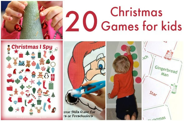 20 fun Christmas Games for kids!