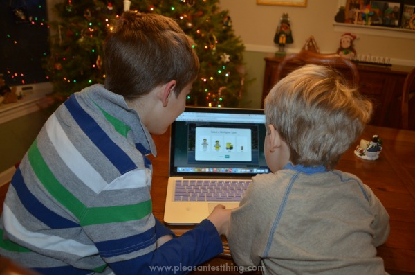 LEGO Christmas traditions for the family
