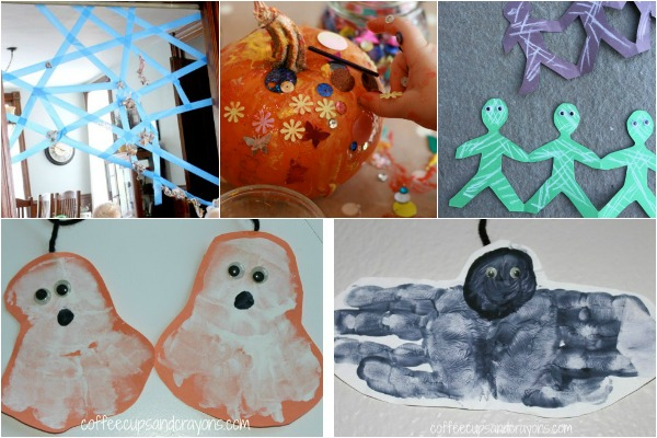 Toddler friendly ideas for Halloween play!