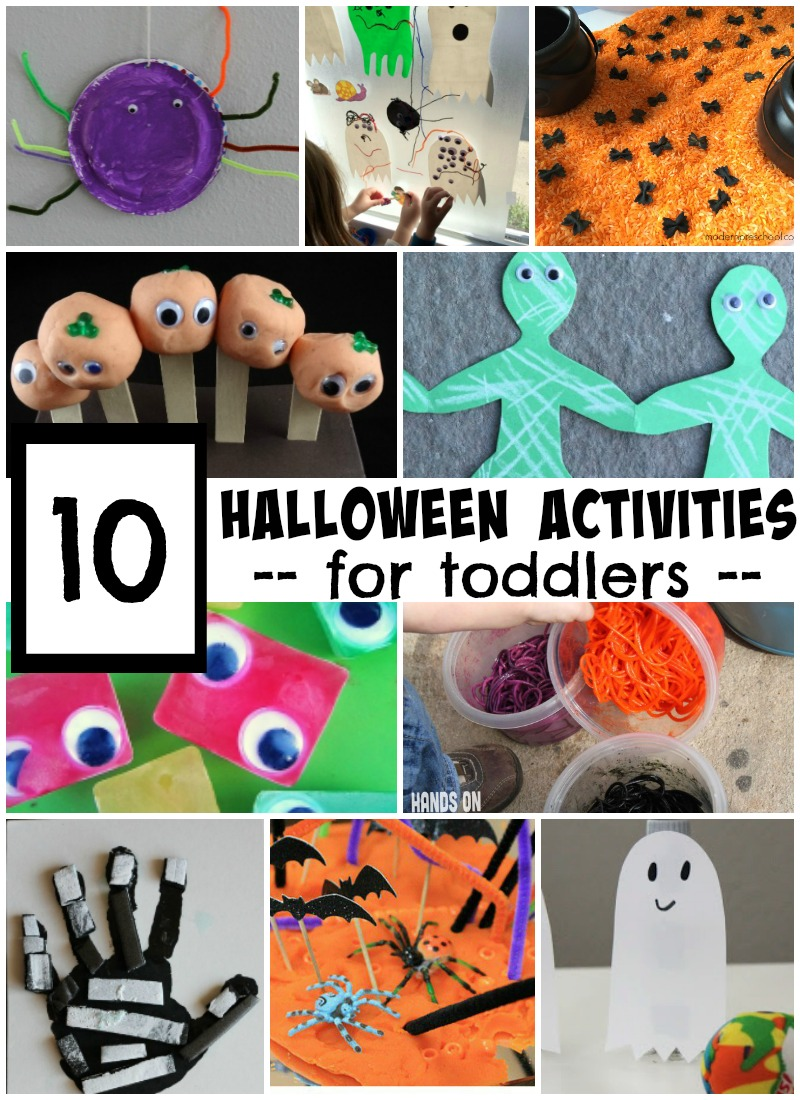 10 Activities for Toddlers - simple games, crafts, and activities toddlers will love!