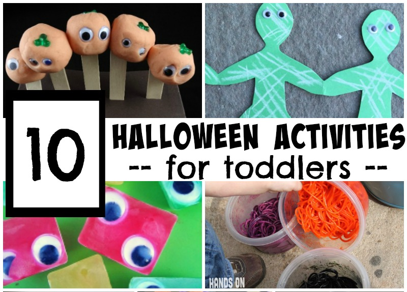 Halloween activities toddlers will love!