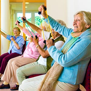 Assisted Living Home Fitness Activities