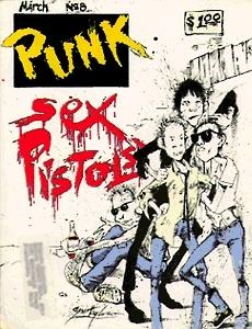 Punk Magazine #8 Sex Pistols issue