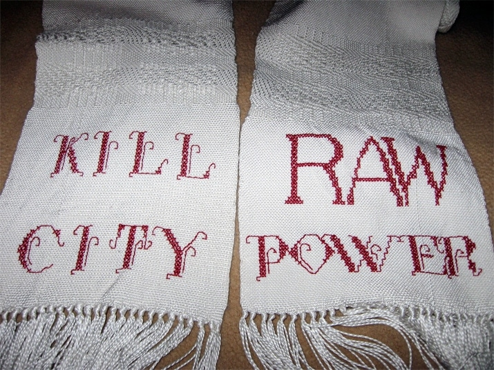 Maria Damon's Raw Power scarf