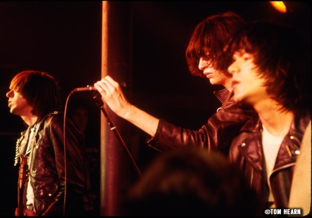Ramones 1978- ©photo by Tom Hearn