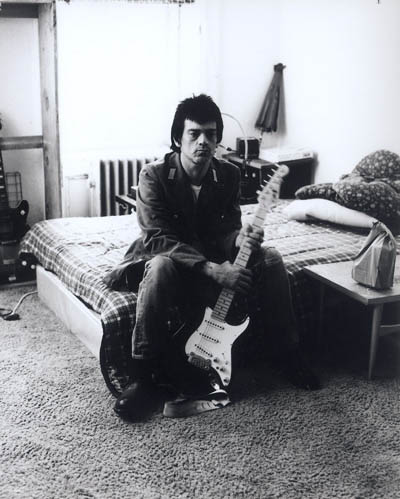 Dee Dee Ramone at the Chelsea Hotel. Photo by Keith Green