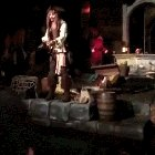 Fgkv9iDeUx168c ao4YYe7kkR cogtXdmG1pZnx9hQ8 Johnny Depp surprising guests on the Pirates Of The Caribbean ride at Disneyland whilst dressed as Captain Jack Sparrow