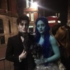 """N05jDnepUwWHc2JUO gFSC  Ig6kYUQ4 MY0Twy8P08 Me and the missus dressed up as """"corpse bride"""" for a halloween party... everyone else wore cat ears..."""