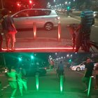 op LxtwUybA81f75tjyF Y6pUNtVXE JNIhfmxewpHQ My city started putting colored LED strips at crosswalks so people staring down at their phone wont walk into traffic