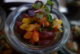 Tropical Tuna Ceviche