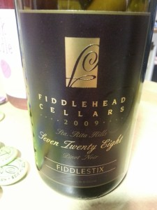 Fiddlehead Cellars 728 Pinot Noir 2009