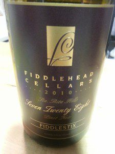 Fiddlehead Cellars 728 Pinot Noir 2010