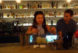 Bartender Priscilla Young
