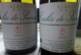 Clos de la Coulee de Serrant 2011 and 2012