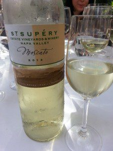 St. Supery 2013 Moscato