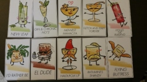 Drink Cards by Dave Stolte