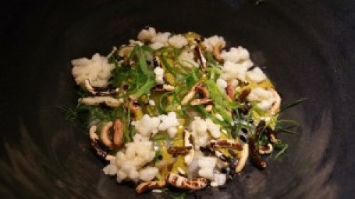 Abalone Porridge, Black Vinegar