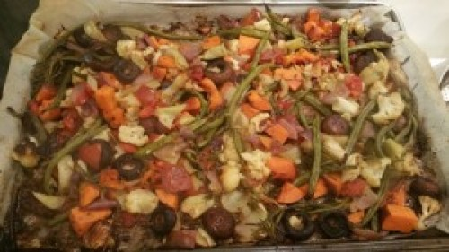 Roasted Market Vegetables