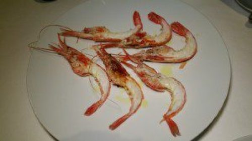 Salt Roasted Santa Barbara Spot Prawns