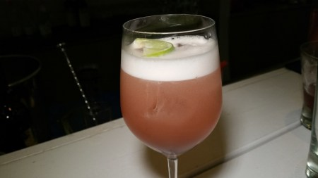 Unexpected – (Blanc de Blanc, Heradura Reposado, Benedictino, Cranberry Juice, lime)