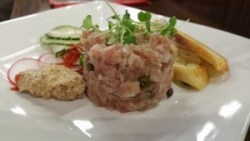 Tuna Tartare with Radishes