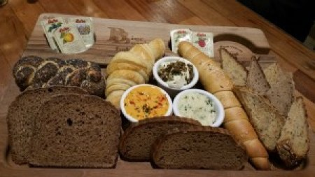 Bread Board with Housemade Spreads