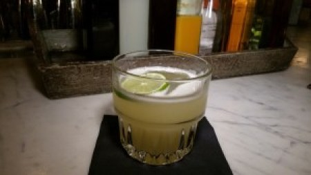Hot for Teacher (El Silencio Mezcal, firewater, lime, pineapple, honey)