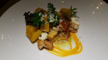 Spiced Pumpkin Gnocchi, Bellwether Ricotta, Roasted Pistachios