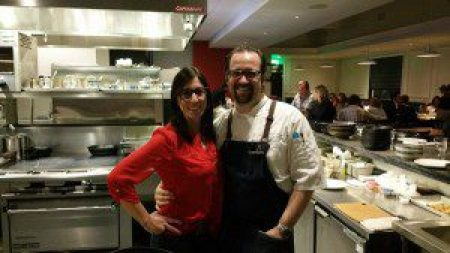 Co-Owners Ann-Marie Verdi and Chef Ted Hopson