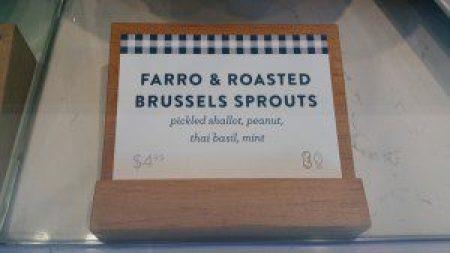 Picnic LA Food Signage