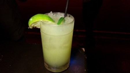 The Abbey's Patron Barrel Jalapeno Lime Margarita