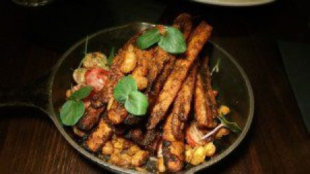 Spicy Roasted Carrots
