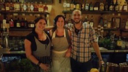 Laura Sanfilippo, Tara Heffernon, and Steve Maduro