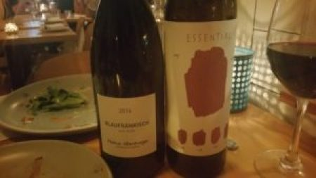 Altenburger, Blaufränkisch, Burgenland, Austria 2014 and Essential, Cabernet Sauvignon, California 2013