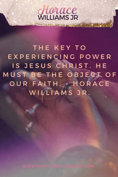 OBJECT OF OUR FAITH