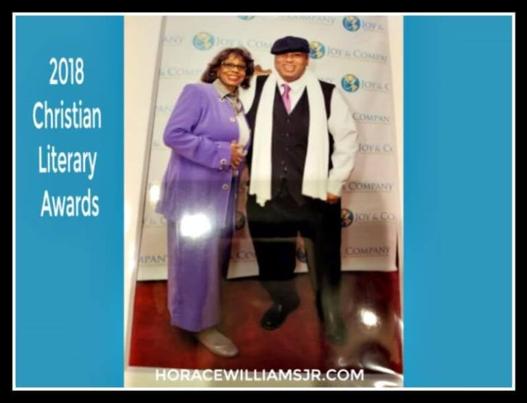 2018 Christian Literary Awards Horace and mom