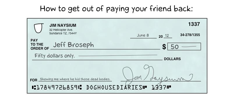 Bank Cheque Vs Personal Cheque