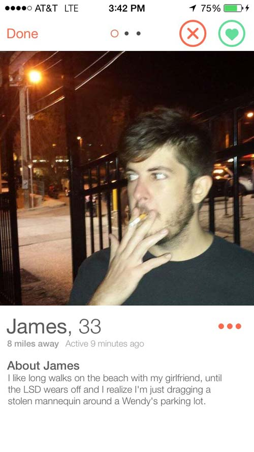 19 Tinder Profiles That Are Absolutely Perfect Pleated Jeans