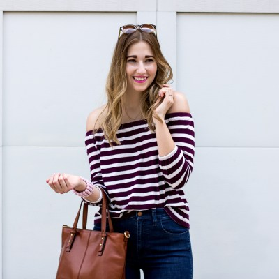 5 ways to wear stripes